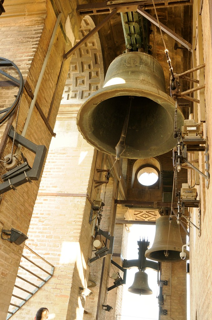 Church Bells Ringing At The Bell Tower( Giralda) At Sevill