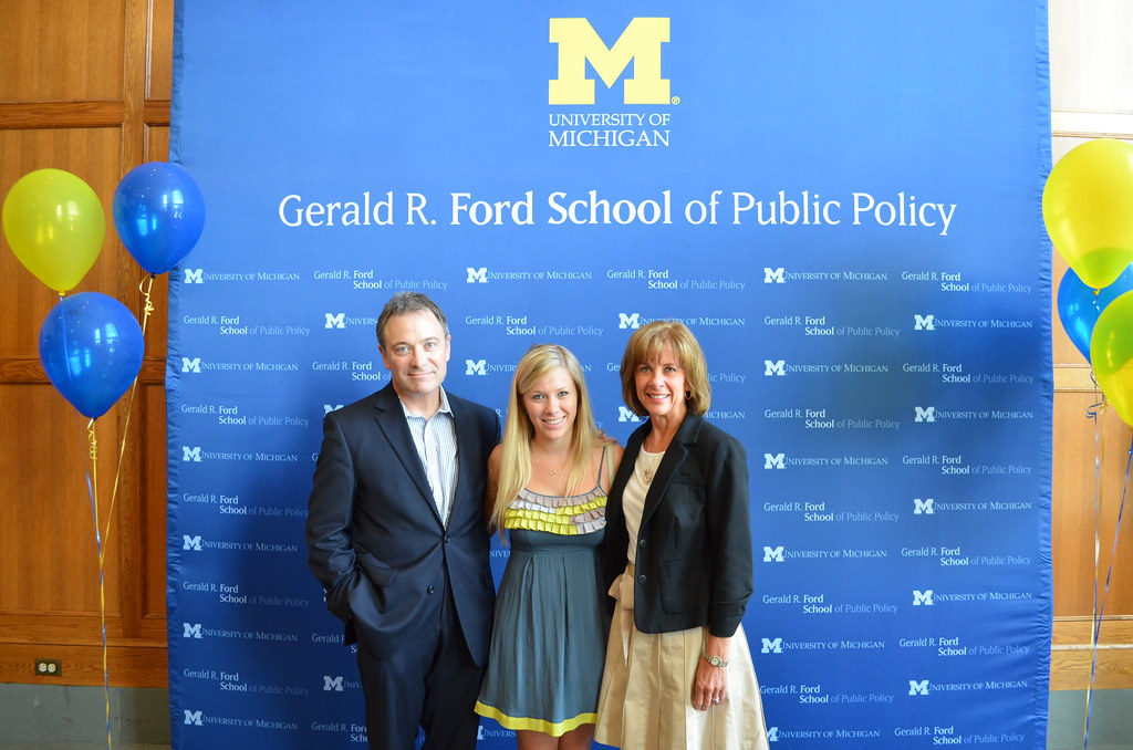 2013 Ford School Graduation Open House Students Family