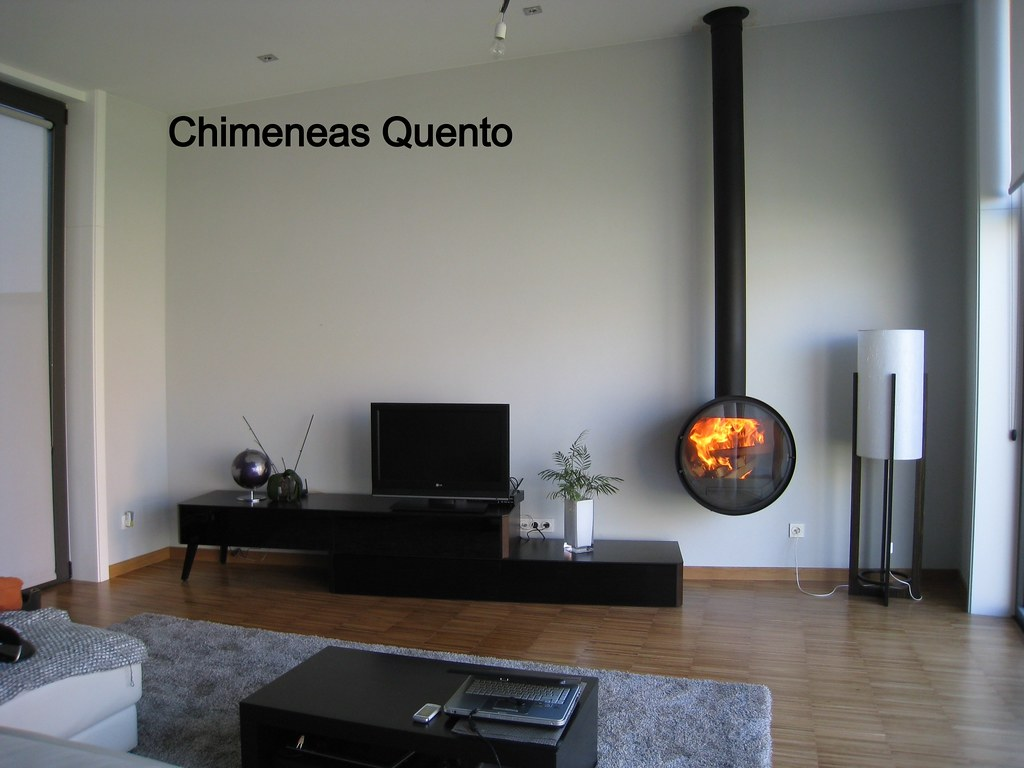 Chimenea quento d 7 de rocal showroom for Chimenea hierro fundido
