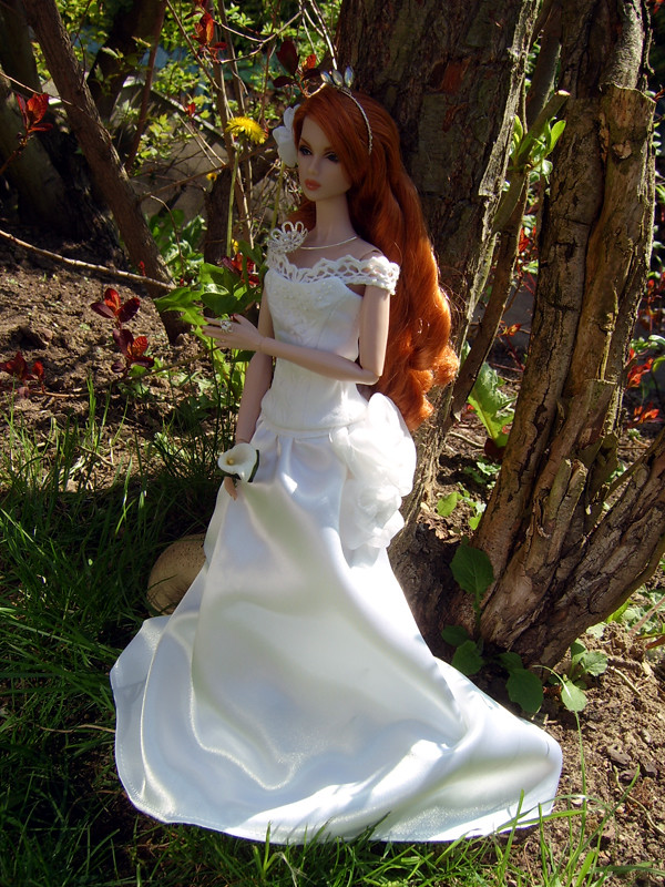 A bride in May