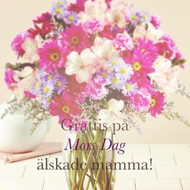 grattis mamma på mors dag Grattis på mors dag! ❤ #morsdag #mamma #grattis | Från Insta  grattis mamma på mors dag