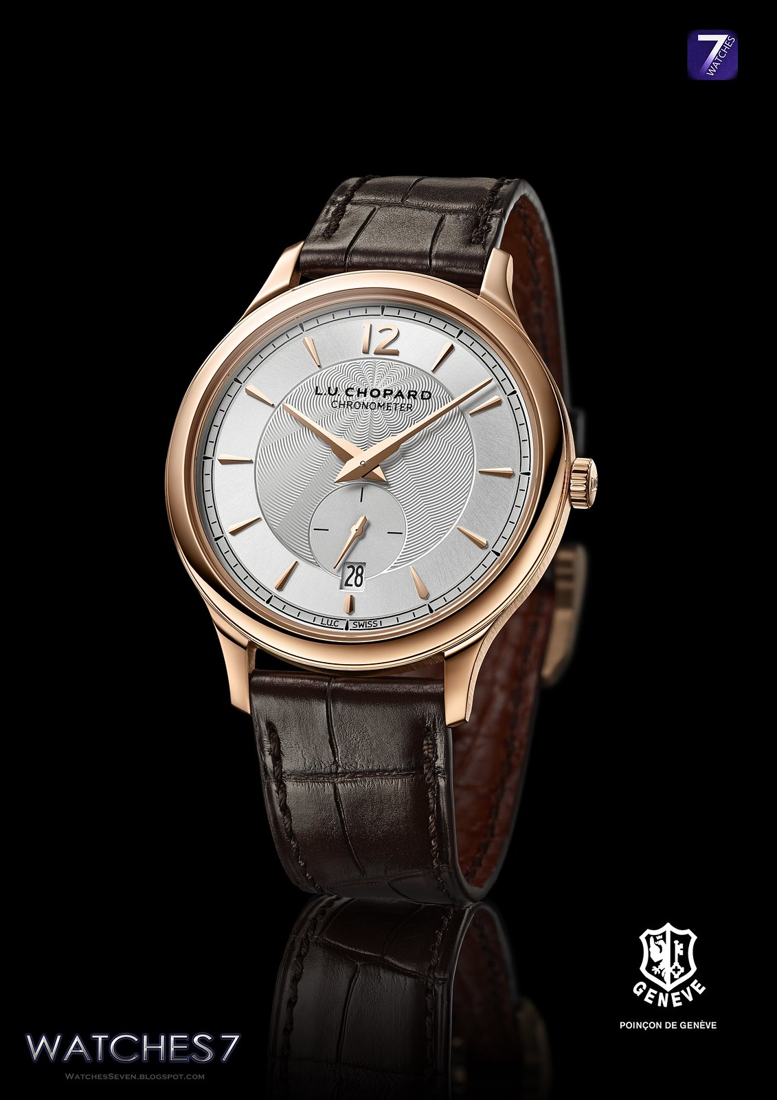 watches 7 chopard l u c xps 1860 ultra thin chronometer. Black Bedroom Furniture Sets. Home Design Ideas