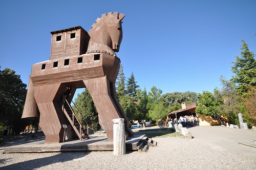 Troy (and a trojan horse) | by Jorge Lascar