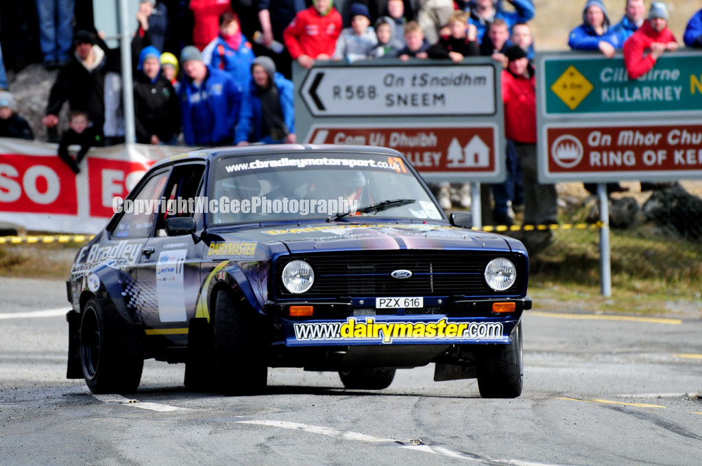 Fergus O Meara Ford Escort Mkii Rally Of The Lakes 2013 Flickr