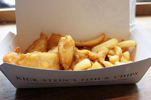 Gluten free fish and chips rick stein 39 s cod bites in for Gluten free fish and chips