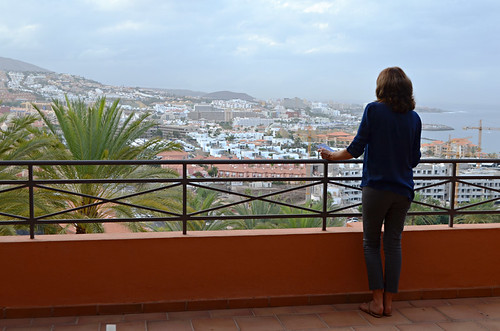 Looking over Costa Adeje, Tenerife