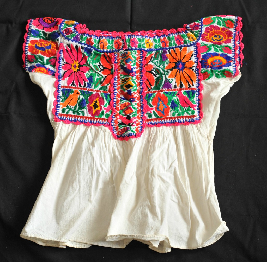 Embroidered Blouses From Mexico