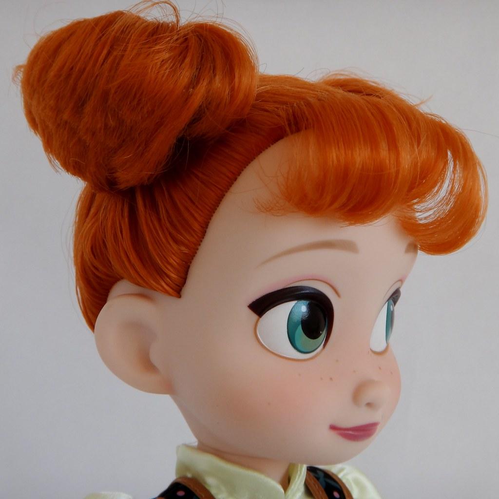 Anna Toddler 16 Doll Frozen Disney Store Purchase