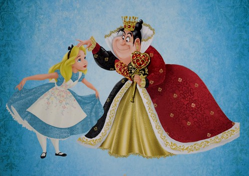 Alice And The Queen Of Hearts Doll Set Disney Fairytale