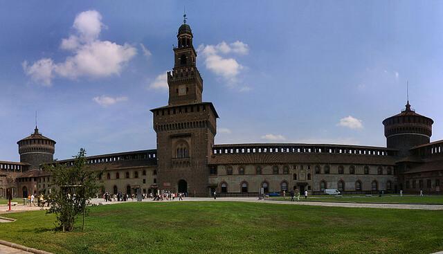 Castillo Sforzesco (Imprescindible para ver en Milán en un día)