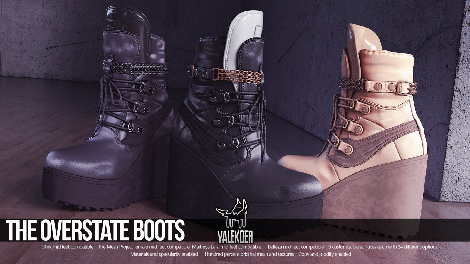 [VALE KOER] OVERSTATE BOOTS