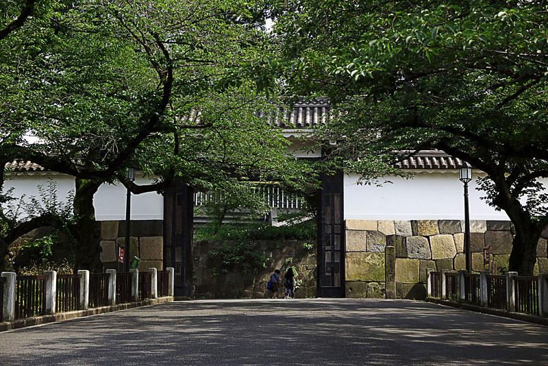 江戸城北の丸 田安門