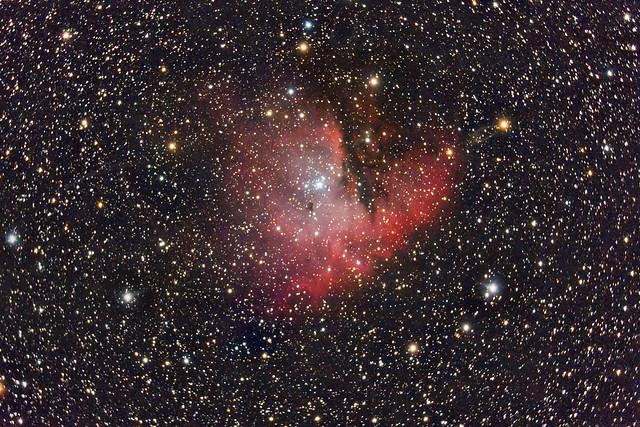 "NGC 281, nebulosa ""Pacman"""