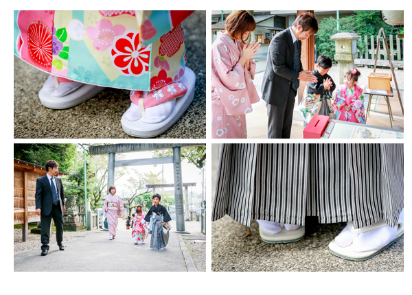 七五三写真ロケーション撮影 愛知県瀬戸市 深川神社 窯垣の小径 兄弟で七五三 男の子 女の子 着物 和装 全データ