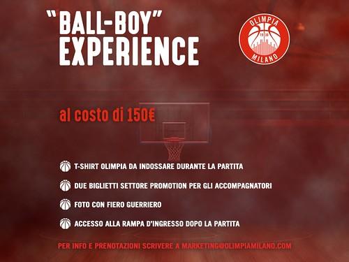 BALL-BOY Experience