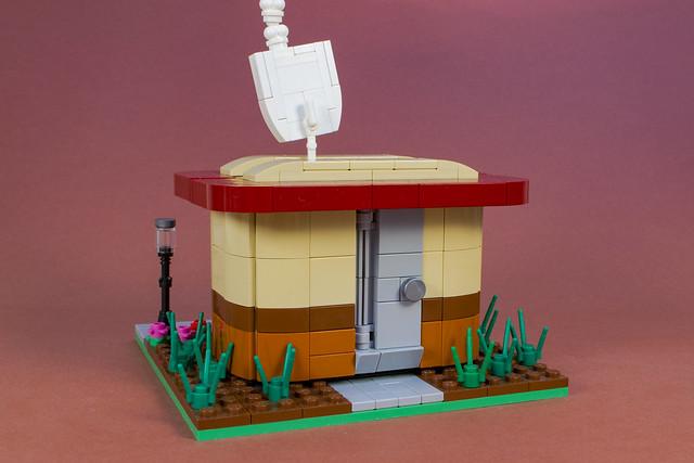 LEGO baraque à café