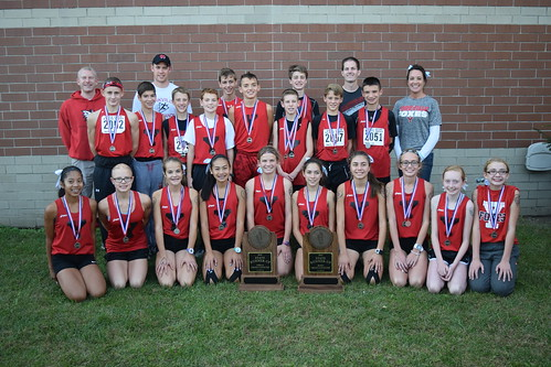 2016 Yorkville Middle School Cross Country State Runnerups