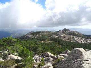 Depuis le sommet 1185m : Capellucciu et alentours