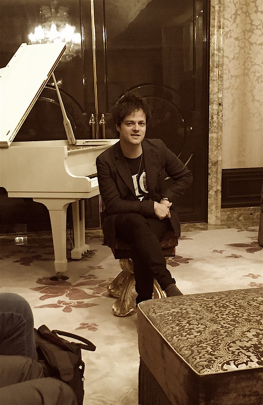 Jamie Cullum at the St Regis Singapore Presidential Suite