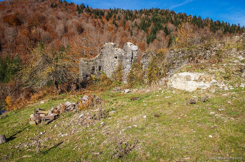Las viejas casas de Irati