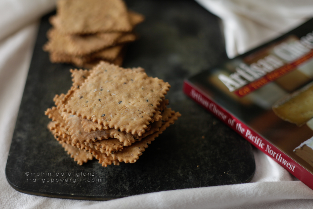 Sesame and Flax Seed Crackers