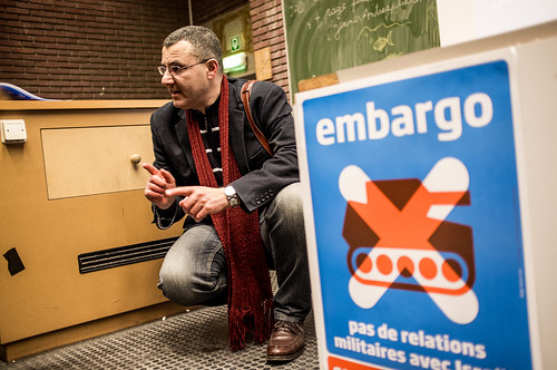 Omar Barghouti- (BDS) Campaign Brussels photo's By Kevin van den | by intal.be