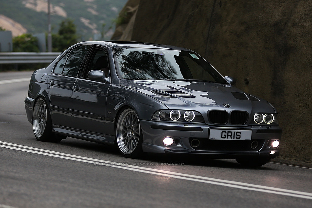 Bmw E39 M5 Shek O Hong Kong Look At Those New Bbs