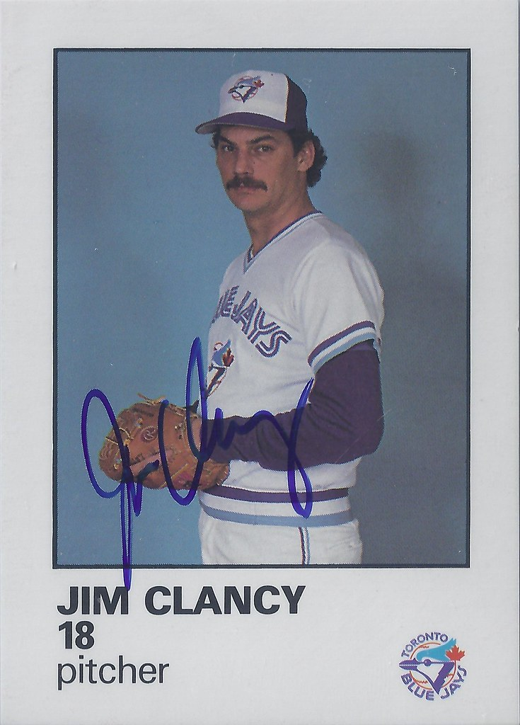 1986 Blue Jays Fire Safety Jim Clancy 18 6 Pitcher Flickr