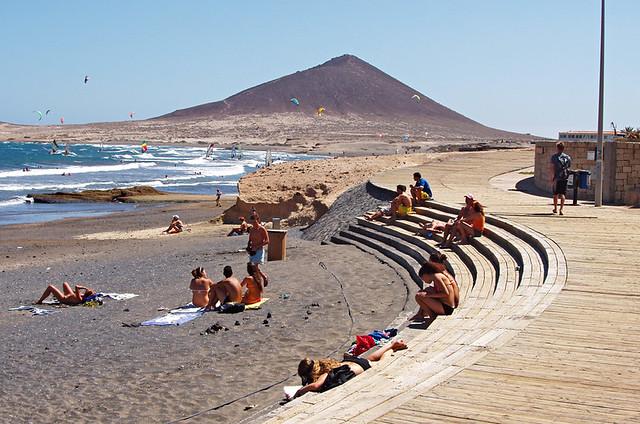 Promenade, El Medano, Tenerife