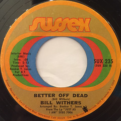 BILL WITHERS:LEAN ON ME(LABEL SIDE-B)