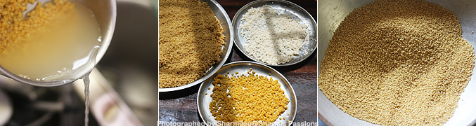 How to make Millet Khichdi Mix - Step2