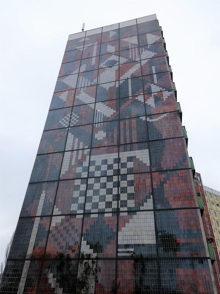 1985 berlin-o. wandgestaltung von inge jastram spaltklinke… | flickr