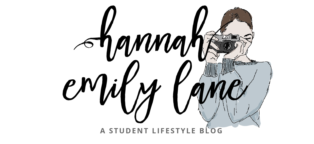 www.hannahemilylane.com - A student lifestyle blog