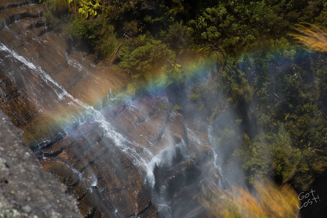 Wentworth Falls in the Blue Mountains, NSW, Australia