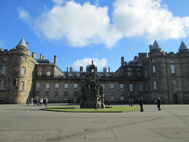 Holyroodhouse Palace Front View