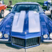 Blue Split Bumper Camaro