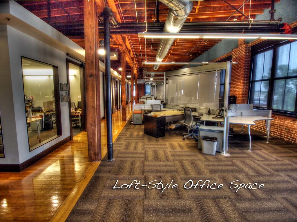 loft style office. Loft Style Office Space | By Abriggs L