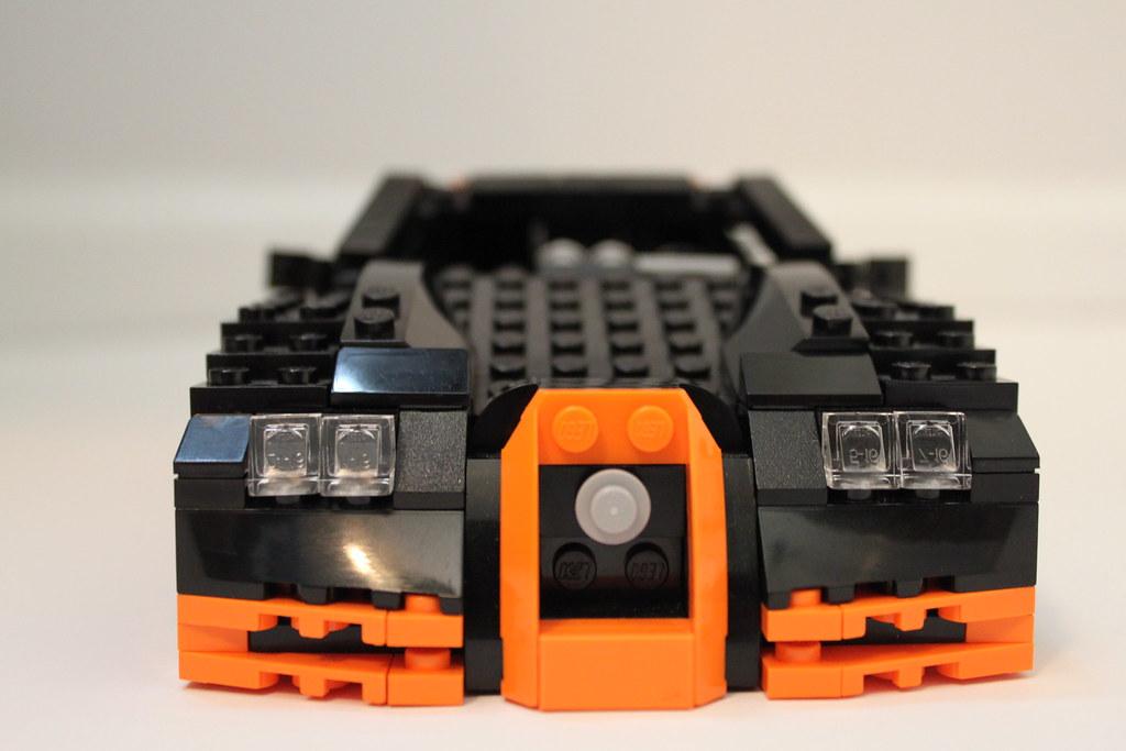 lego bugatti veyron super sport i had lots of orange piece flickr. Black Bedroom Furniture Sets. Home Design Ideas