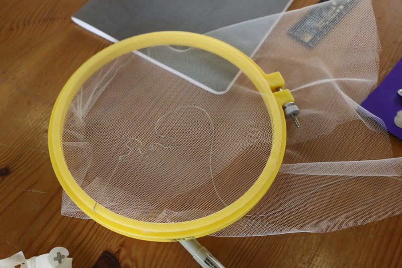 Sensing EMF's Through Textiles workshop