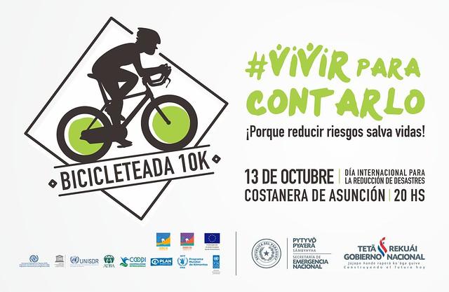 #VivirParaContarlo Paseo Urbano en Bicicleta 10k