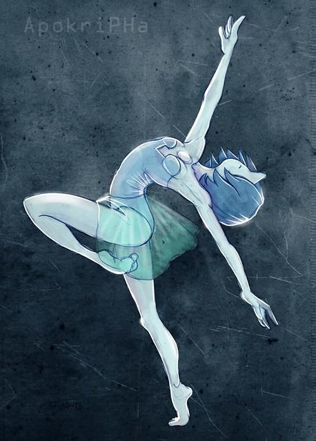 Blue Diamond's Pearl