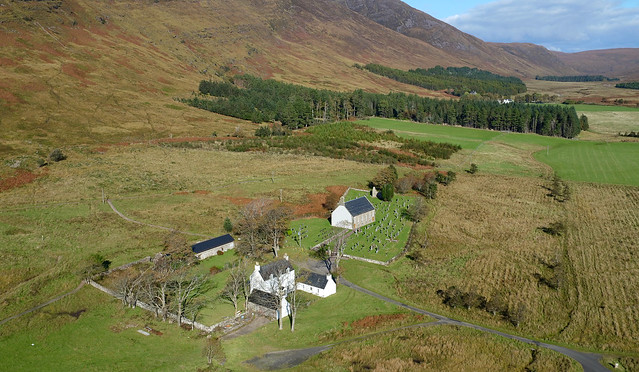 Clachan Church and area Applecross