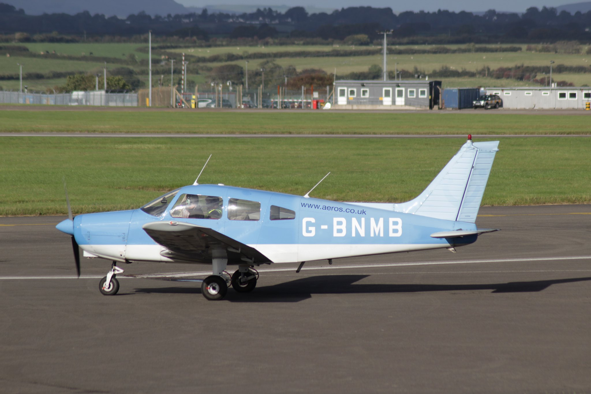 Piper PA-28-151 Cherokee Warrior G-BNMB 16OCT16