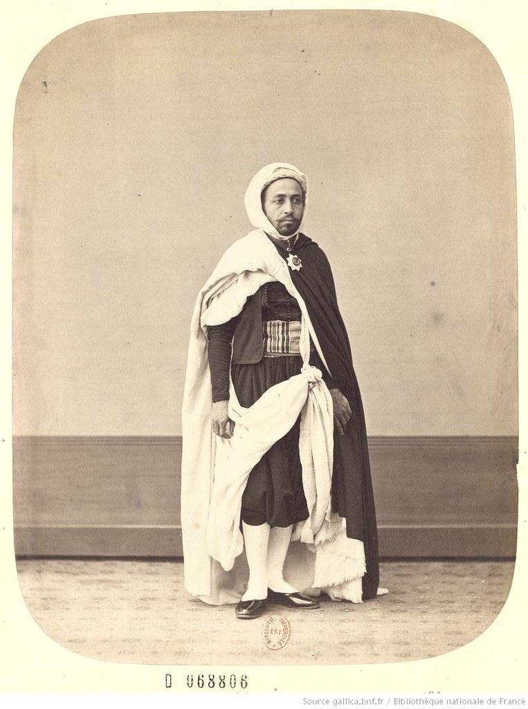 Portraits Of The Eldest Son Abd El Kader