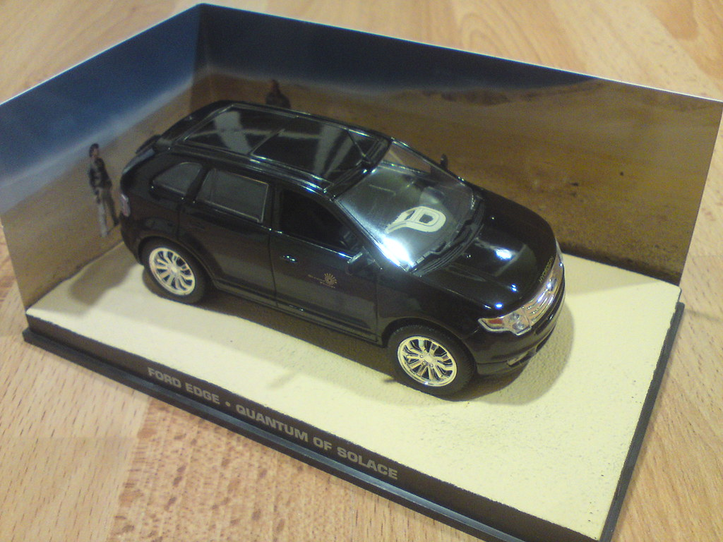 Fabbri James Bond Ford Edge Quantum Of Solace   By Baptiste Coudert Reviews
