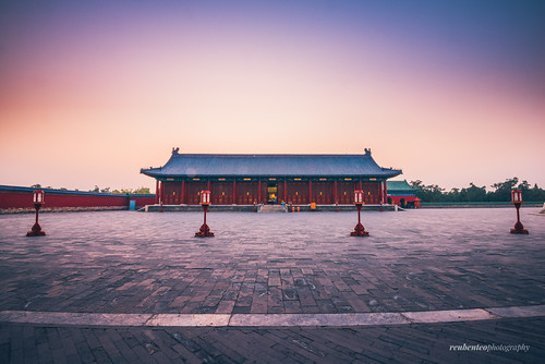 Temple of Heaven Sunset | by reubenteo