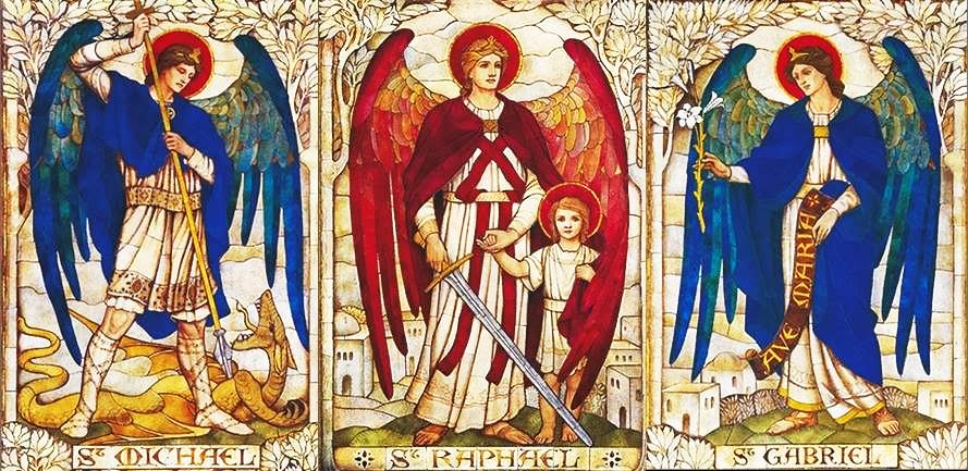 """Sưu tầm : Những chư vị Tổng Lãnh Thiên Thần còn """"xa lạ"""" mà chúng ta chưa  biết hoặc ít khi biết tới là ai?"""