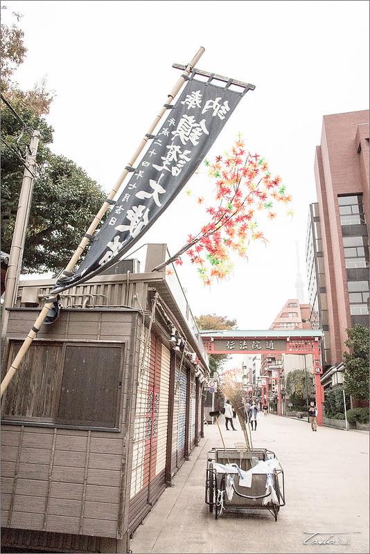 【Tasha】日旅時光東京自由行︱淺草寺 水子地蔵尊.悠靜閒適的寺院銀杏【Tasha】日旅時光