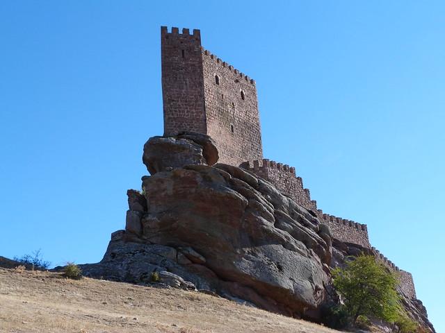 Castillo de Zafra (Guadalajara). La torre de la alegría de Juego de Tronos