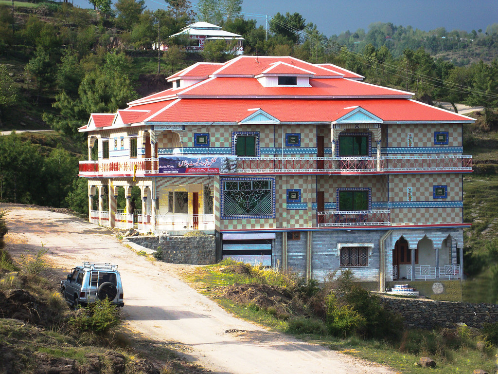 Gulshan e shuhda guest house rawalakot azad kashmir flickr for Home designs kashmir